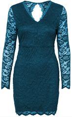 Vero Moda Dámské šaty Lucia Ls Short Dress Boo Ki Gibraltar Sea