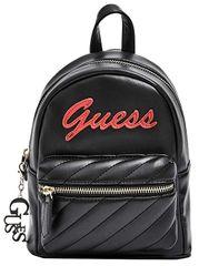 Guess Dámský batoh Factory Women`s Feliz Logo Convertible Mini Backpack Black