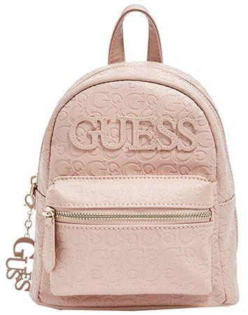 Guess Damski Plecak Factory Women`s Feliz Logo Convertible Mini Backpack Pink