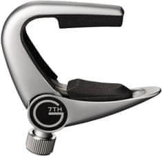G7th Newport 3-String Silver Kapodastr