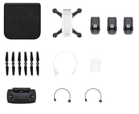 DJI dron Spark Controller Combo + 2 bateriji, bel