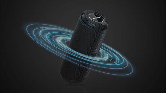 przenośny głośnik ochrona ipx4 sencor sss 1200n tarus 360° dźwięk przestrzenny dźwięk wodoodporny