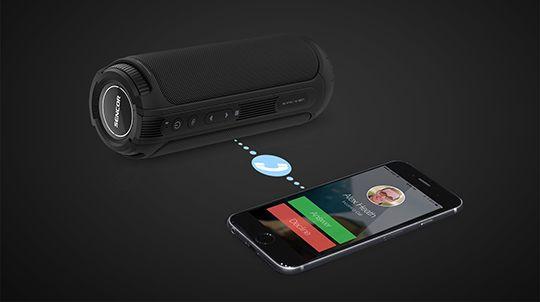 przenośny głośnik sencor sss 1200n tarus nfc bluetooth 4.2 15 m zasięg mikrofon tryb głośnomówiący moc dźwięku 20 w true wireless stereo