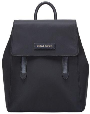 Smith & Canova női fekete hátizsák