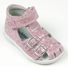 Richter dívčí sandálky s květinami