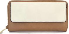 Giil portfel damski brązowy