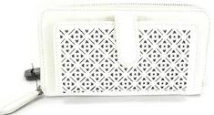 Giil női fehér pénztárca
