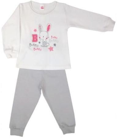 Makoma dívčí set Bunny 86 biela