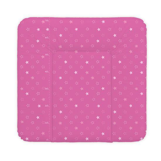 Ceba Baby Přebalovací podložka 75 x 72 cm Hvězdy tmavě růžová