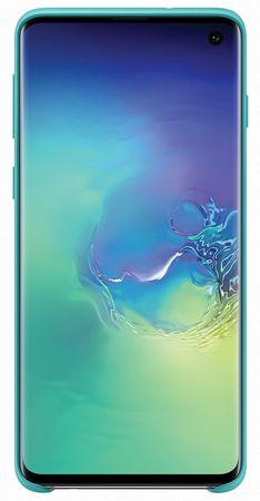 Samsung obudowa ochronna Silicone Cover na Galaxy S10 EF-PG973TGEGWW - zielona