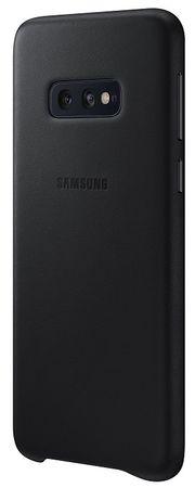 Samsung obudowa ochronna Leather Cover na Galaxy S10e czarna, EF-VG970LBEGWW