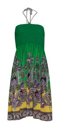 Smashed Lemon Női ruha Yellow/Green 19011 (méret S)