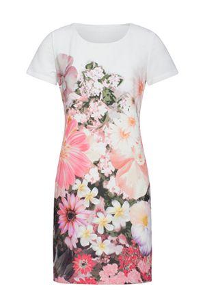 Smashed Lemon Női ruha White/Pink 19105 (méret S)
