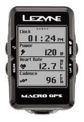 Lezyne Macro GPS Black