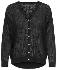 ONLY Dámsky sveter New Oda L/S V-neck Cardigan Knt Black