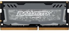 Crucial memorija (RAM) Ballistix Sport LT 8GB, DDR4, SODIMM, 2666 MT/S, CL16 (CRUME-8GB-DDR4-SO)