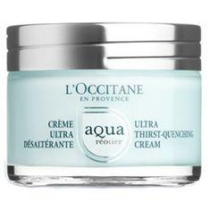 LOccitane En Provenc Nawilżający krem do skóry z zawartością wody (Aqua Thirst-Quench ) Cream (Aqua Thirst-Quench ) 50 ml