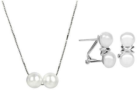 JwL Luxury Pearls Zniżka na biżuterię perłową JL0394 i JL0284 srebro 925/1000