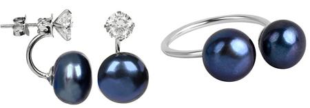 JwL Luxury Pearls JL0225 és JL0433 kedvezményes gyöngy ékszerkészlet ezüst 925/1000