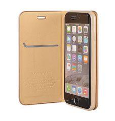 Havana torbica za iPhone XR, zlata, preklopna
