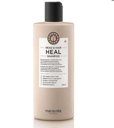 Maria Nila Head & Hair Heal sampon korpásodás és hajhullás ellen (Shampoo) (mennyiség 100 ml)