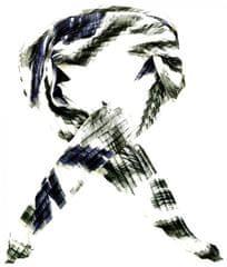 Alber Zoran női kendő fekete