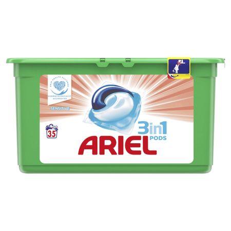 Ariel kapsule za pranje rublja Sensitive 3 in 1, 35 komada