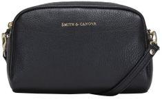 Smith & Canova černá crossbody kabelka