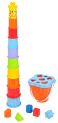 Mac Toys Žirafa stohovacie kelímky