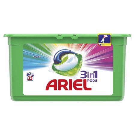 Ariel kapsule za pranje Color 3 in 1, 35 kom