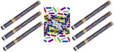 Konfety 60cm metalické farebné mix 6 ks