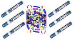 Konfety Párty farebné 40 cm 6 ks