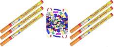 Konfety Párty farebné 80 cm 6 ks