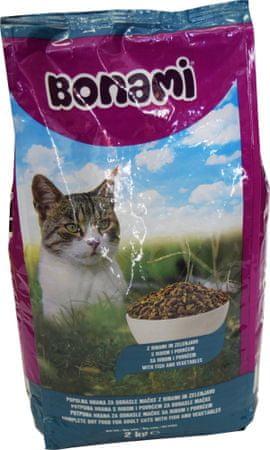 Bonami briketi za mačke, riba in zelenjava, 2 kg