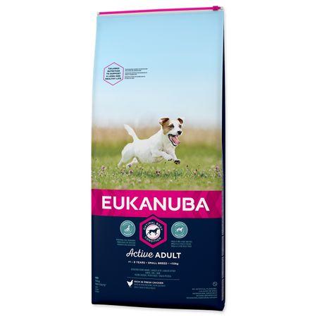 Eukanuba Adult Small Breed hrana za pse, 15 kg