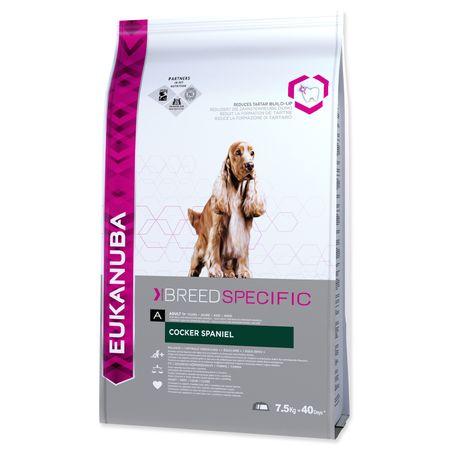 Eukanuba sucha karma dla psa Cocker Spaniel - 7,5 kg