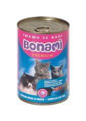 Bonami mokra hrana za mačke, morska riba in tuna, 400 g