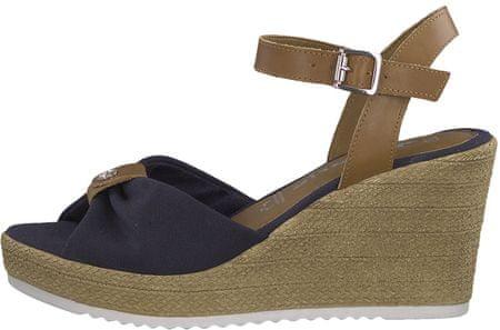 Tamaris dámské sandály 41 tmavě modrá