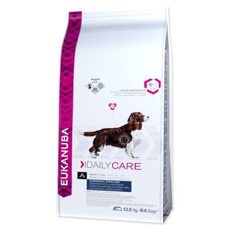 Eukanuba Daily Care Overweight, Sterilized kutyatáp - 12,5kg