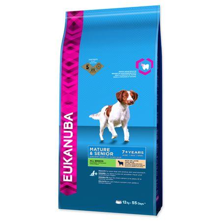 Eukanuba sucha karma dla psa Mature & Senior Lamb & Rice - 12 kg