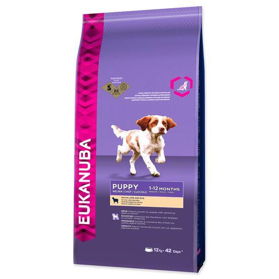 Eukanuba Puppy & Junior Lamb 12kg