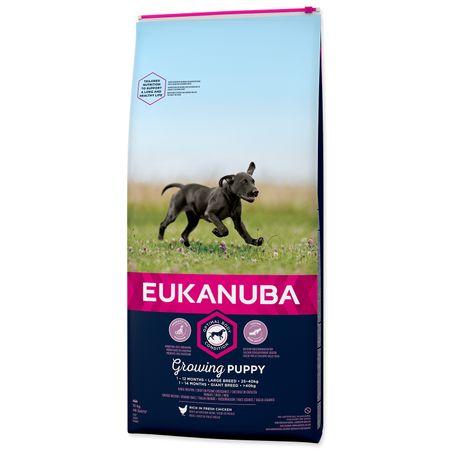 Eukanuba karma dla szczeniąt Puppy & Junior Large - 15kg