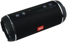 XBlitz Loud - přenosný bezdrátový Bluetooth reproduktor, vodotěsný, příjem telefonních hovorů, USB, microUSB, microSD