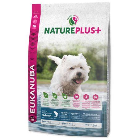Eukanuba Nature Plus+ Adult Small Breed Rich łosoś 10kg