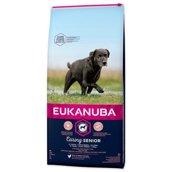 Eukanuba Senior Large 15 kg + házedlo velké zdarma