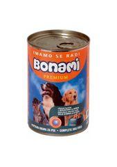 Bonami mokra hrana za pse, divjačina in riž, 400 g