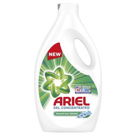 Ariel gel za pranje Gel Mountain Spring 48 2,64 l