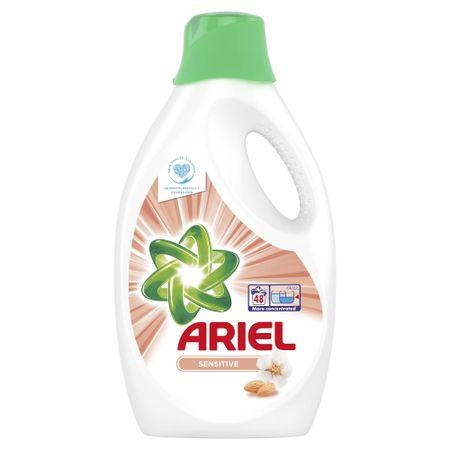 Ariel gel za pranje Sensitive 48 2,64 l