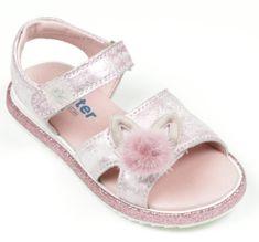 Richter sandale za djevojčice s pomponom