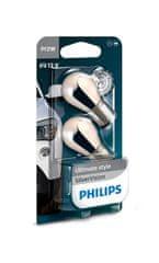 Philips Žarnici 12V-PY21W-21W SilverVision